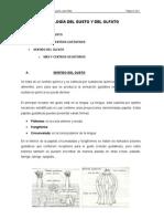 TEMA VIII. FISIOLOGÍA DEL GUSTO Y DEL OLFATO