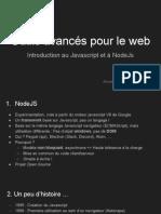1. Outils avancés pour le Web