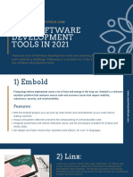 21 Best Software Development Tools in 2020