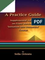Guia practica suplemento iniciación Franz Bardon por Seyla Orienta