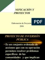 Cicg- Proyecto de Inversion Publica Sl
