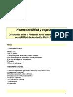 Homosexualidad y esperanza - Asociación Médica Católica de EEUU