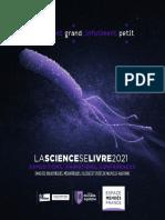 Programme La science se livre 2021