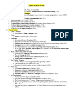 Paper Analysis Essay