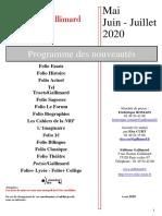 05 - Mai - Juin - Juillet 2020 Poches FR