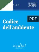 Codice dell'ambiente 2019