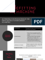 3D printing for production of the parts needed for machinery revamping.pdf