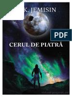 N. K. Jemisin - Pământul Sfărâmat - V3 Cerul de piatră 1.0 ˙{SF}