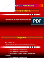 Injections et Perfusions
