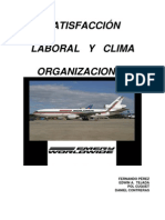 satifaccion laboral y clima