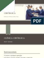 Clinica Cirurgica - Instrumentais