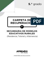 Experiencias de aprendizaje 5to grado - ME Rurales.pdf