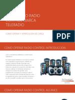 Instructivo Operacion Radio Control Teleradio Depto Ee.ll e Instrumentacion Sewell