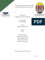 Informe Operaciones 1 PDF MEDICION DE TIEMPO