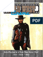 Wild West Cinema Corebook