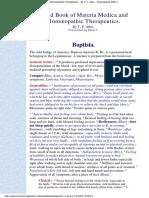Baptsia - Allen handbook