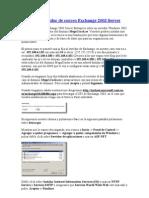 Crear 1er servidor de correo Exchange 2003 Server