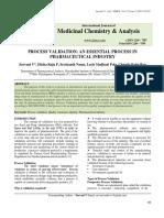 PROCESS VALIDATION AN ESSENTIAL PROCESS.pdf