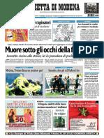 PDF Gazzetta Modena 6 Dicembre 2009