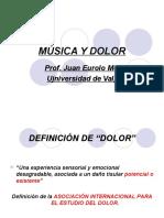MÚSICA Y DOLOR en musicoterapia-2015