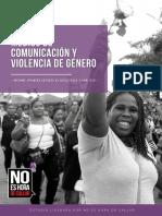 Primer informe Medios de Comunicación y Violencia de Género - No Es Hora De Callar