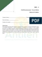 PEP-3 Informe del cuidador