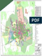 Plano Diretor de Caruaru Anexo III Planta de Zoneamento Caruaru Sede