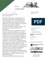 Volnovich - El Pensamiento de Lacan. Sus efectos en el feminismo