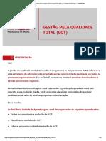 GESTÃO PELA QUALIDADE TOTALl ( GQT)