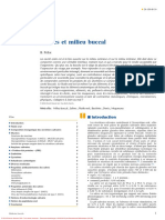 150-H-10 Salives et milieu buccal