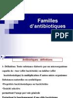 Cours Familles d'Antibiotiques Master