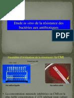 mecanismes de resistances aux antibiotiques