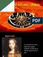 """Ludovic Al XIV-lea, ,,Regele-Soare"""""""