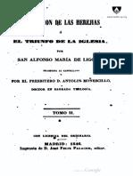 Refutación de la herejías de San Alfonso María de Ligorio - Tomo II.pdf