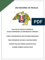 MARISOL CASTILLO OLIVA INFOGRAFIA 1 EL OLOR DEL DINERO