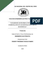 Análisis de Los Filtros Activos Para Compensación en Los Sistemas Eléctricos de Potencia (1)