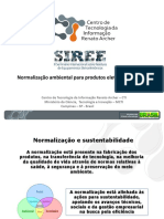 SIREE - Marcia Ewald - Normalização ambiental para produtos eletroeletrônicos