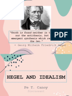 Hegel and Idealism - Copy