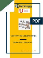 Guía Gestión de Operaciones