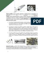 Formas comerciales de metales