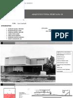 Arquitectura Moderna - Casa Casinelli