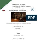 Desarrollo de la Audiencia - Mario Velez Juela