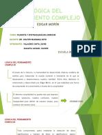 PENSAMIENTO COMPLEJO - EDGAR MORÍN-PPT