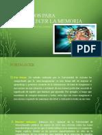 Métodos para fortalecer la memoria.pptx