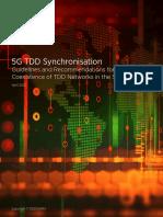 3.5 GHz 5G TDD Synchronisation