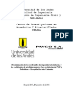 02-Recopilacion Determinación de ks y km tuberias PVC y Polietileno