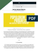 'Populorum Progressio', uma encíclica contra o capitalismo