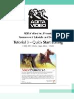 Adobe Premiere 6.5 Tutorials
