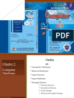 Chapter 2. Computer Hardware Storage  Devices - Secondary memory (1)