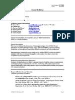 UT Dallas Syllabus for opre6374.pjm.11s taught by James Szot (jxs011100)